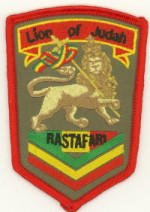 Patch ecusson rasta lion of judah 2